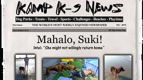 Mahalo, Suki!