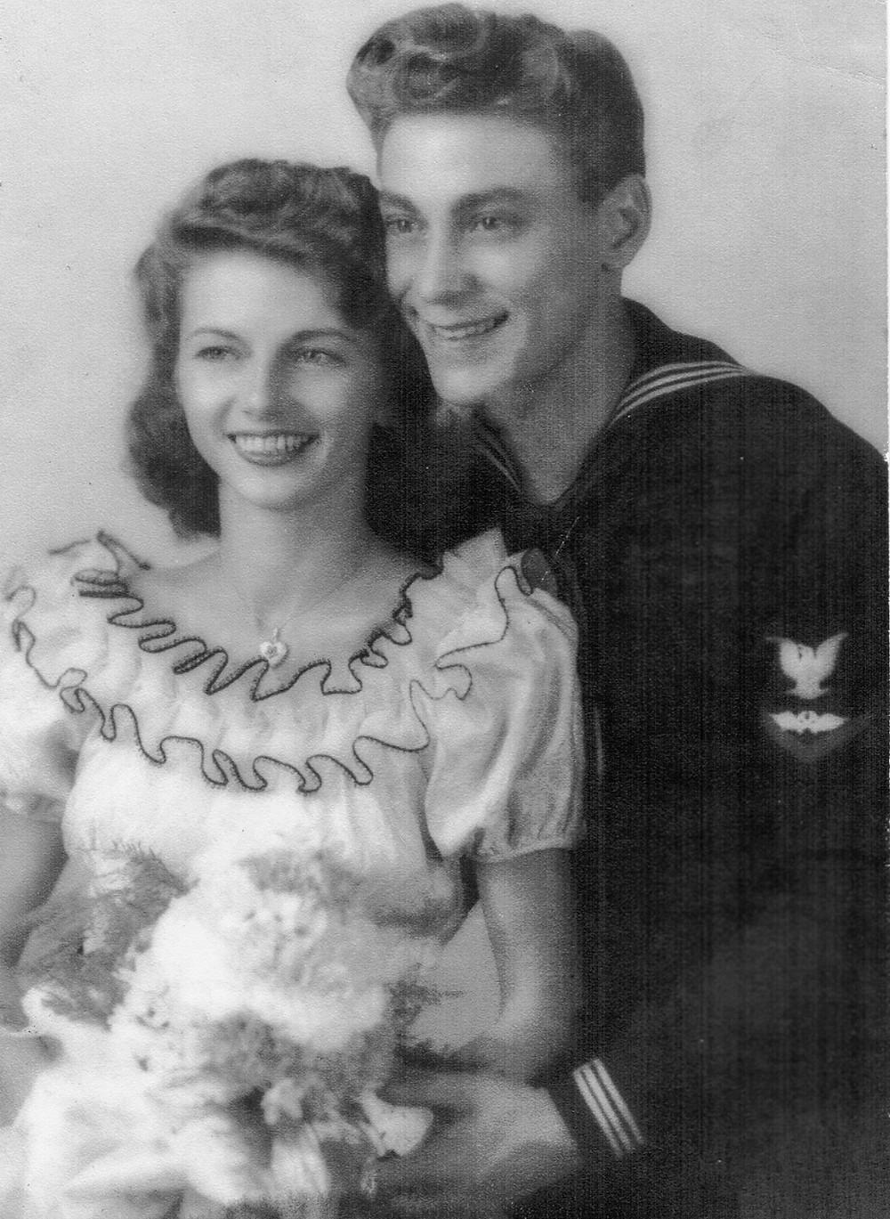 Helene & Ben, 1944