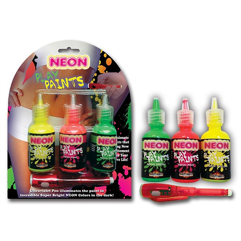 NEON - BODY PAINTS 3 PACK