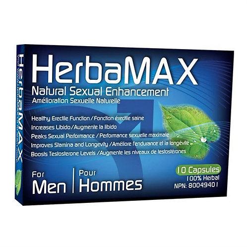 HERBAMAX -  10 CAPSULES (HOMME)
