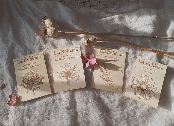 """Collection semences de fleurs """"La Bohème"""""""