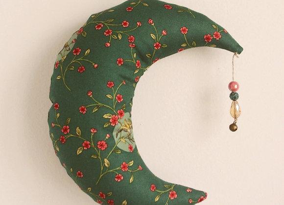Lune décorative en tissus