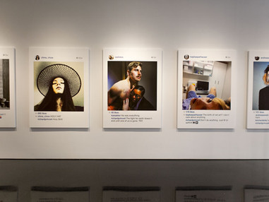 #wishingpelt featured in New Portraits organized by Richard Prince at Gagosian
