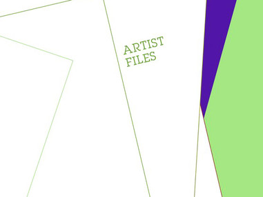 BOOK: A Blade of Grass Publishes Artist Files Book