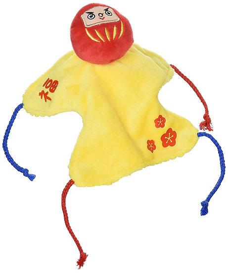 Игрушка в виде талисмана Дарума, приносящего счастье с функцией ухода за зубами