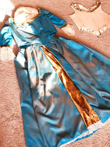 1780's dress for an Edinburgh Fringe production