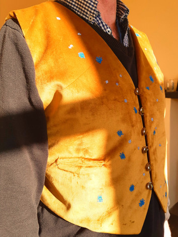 Waistcoat inspired by the movie Cloud Atlas