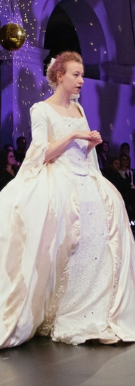 The Wedding Dress as featured in Edinburgh Collage of Art's Costume degree performance.