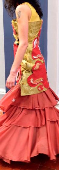 Diapason dress for Alex Rigg