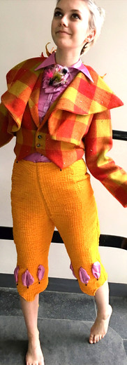 Papageno's suit for The Magic Flute