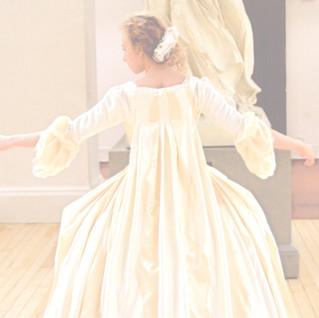 1750's Wedding Dress - Rosalind