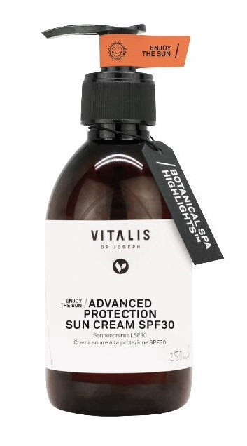 VITALIS Dr JOSEPH Advanced Protection Sun Cream SPF30, 250ml