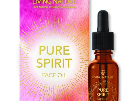 Neu von Living Nature: Pure Spirit Gesichtsöl