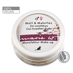 marie w. Naturkosmetik - manufaktur Make-up: ohne Tierversuche und Chemie