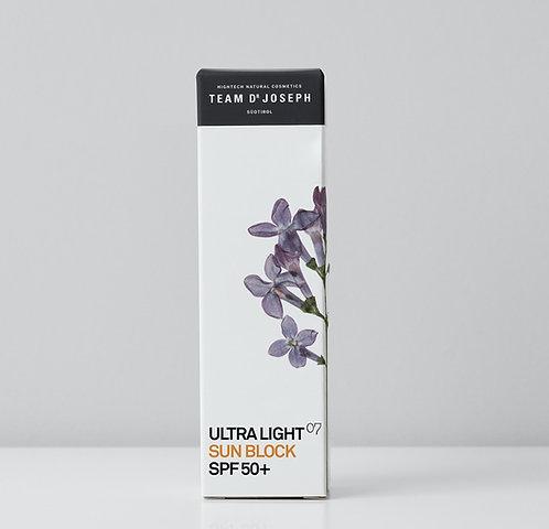 ULTRA LIGHT SUN BLOCK SPF 50+, 30ml