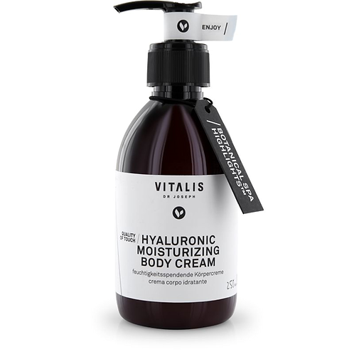 VITALIS Dr JOSEPH Hyaluronic Moisturizing Body Cream, 250ml