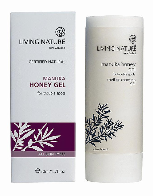 LIVING NATURE Manukagel PET Flasche 50 ml