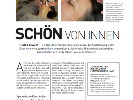 Artikel in Beauty & Health - Dezember 2016