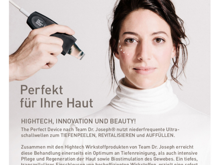 NEU ab Januar - Team Dr Joseph Behandlungen mit THE PERFECT DEVICE