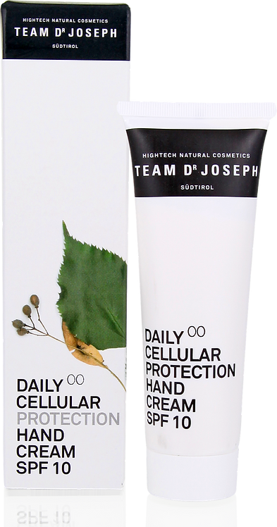 TEAM DR JOSEPH Daily Cellular Protection Hand Cream SPF 10, 50 ml