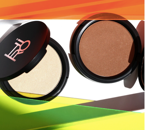 """HIRO Pressed Highlighter """"Glow with the Flow"""" 12g vegan"""