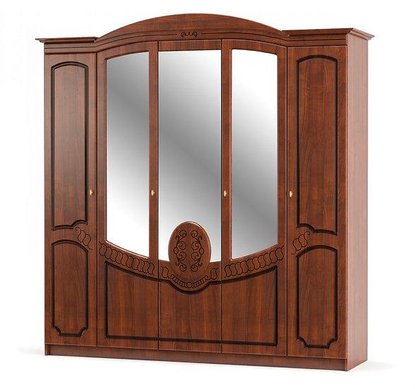 Шкаф 5Д Барокко вишня