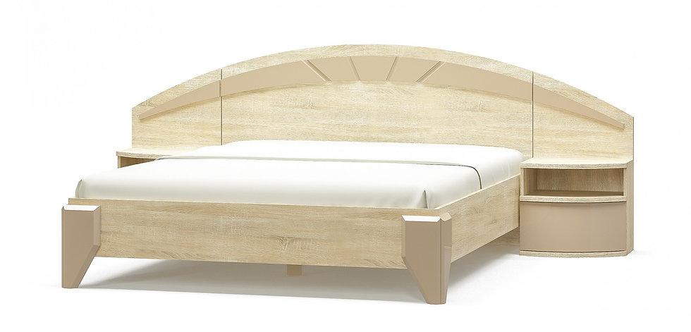 Кровать Аляска дуб самоа