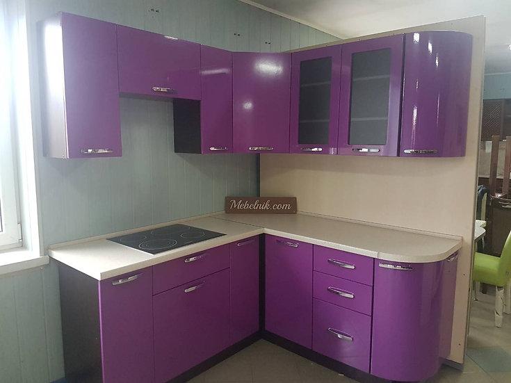 Кухня Гамма фиолетовая