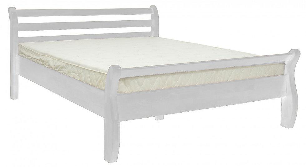 Кровать деревянная Афина белая