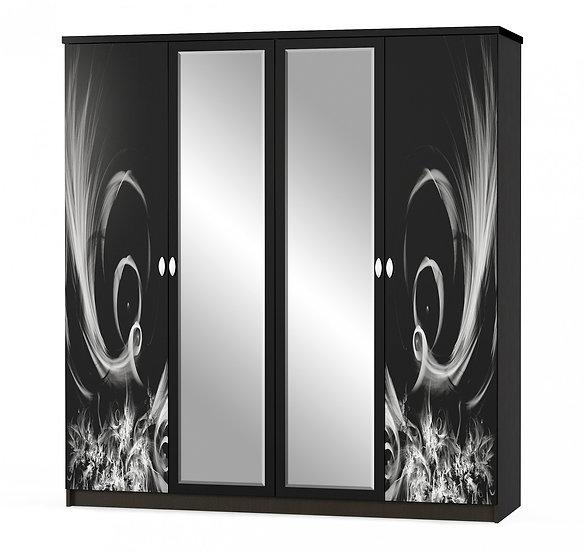 Шкаф 4Д Ева венге