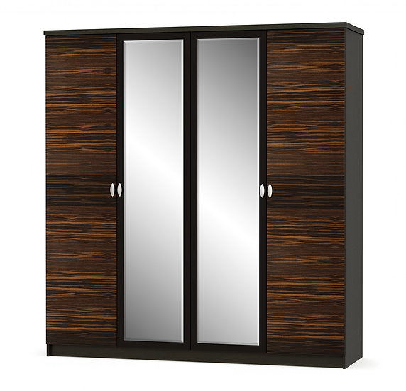 Шкаф 4Д Ева макасар