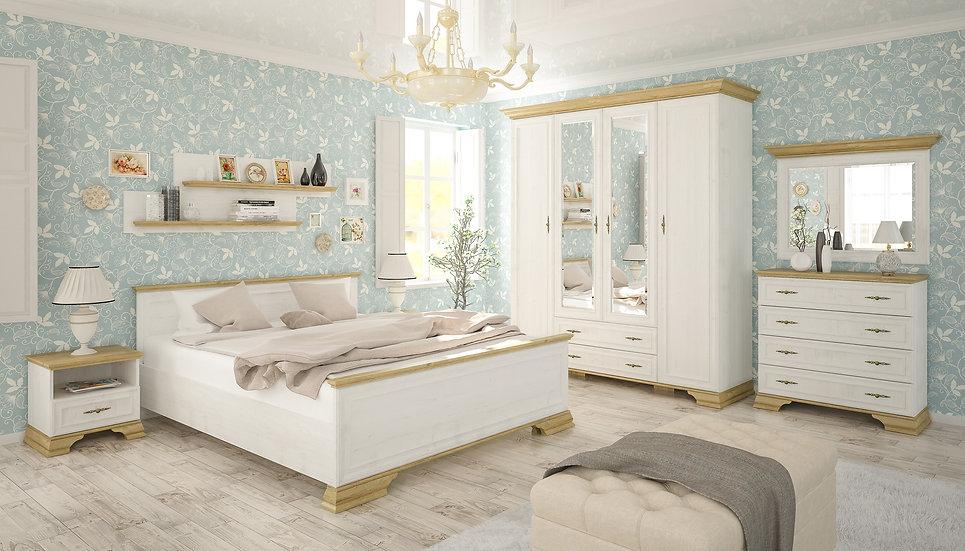 Спальня Ирисдуб золотой