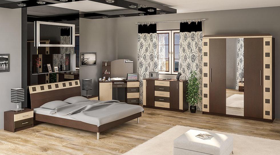 Спальня София венге
