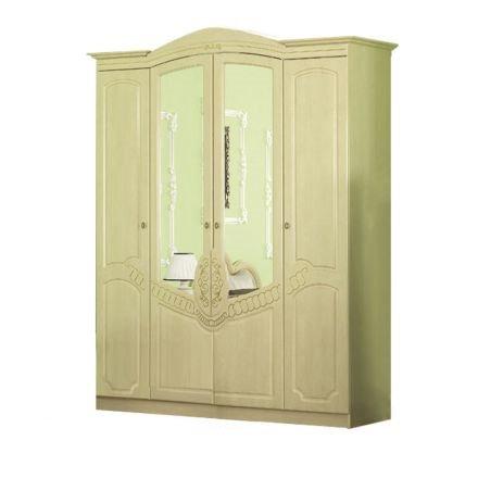 Шкаф 4Д Барокко береза