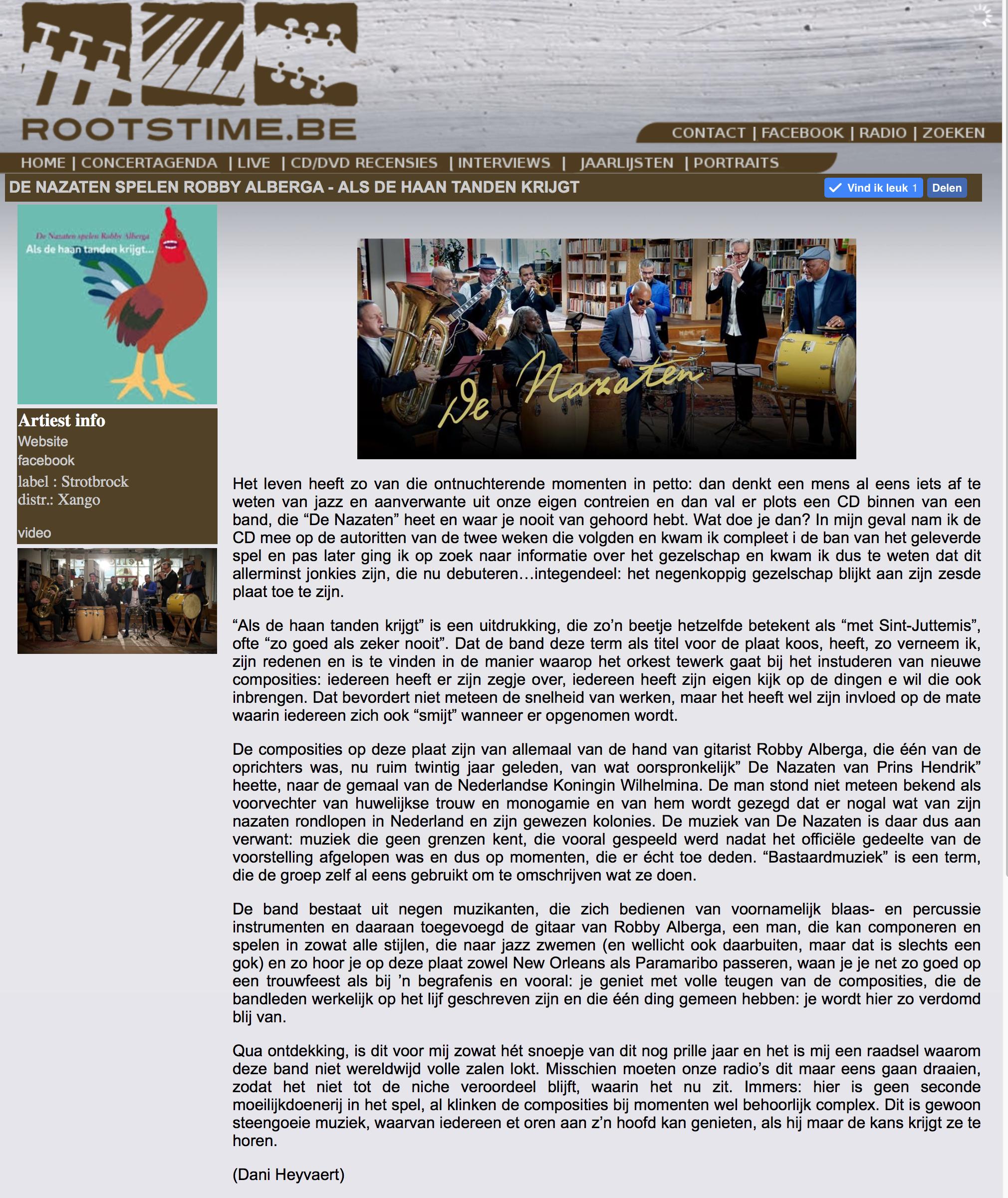 Recensie Rootstime