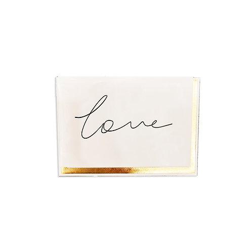Handwritten Love Card