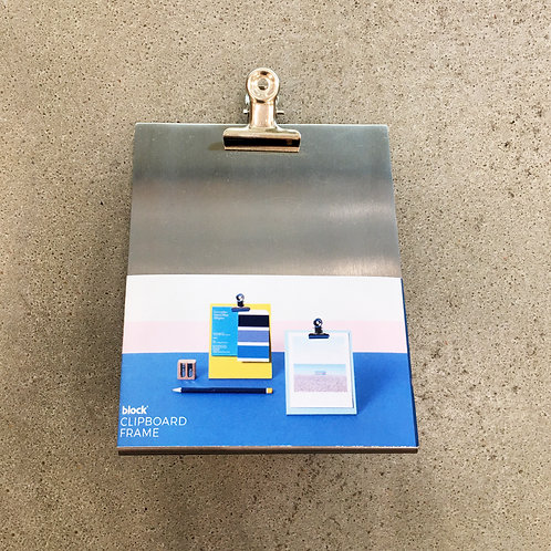 Silver Clipboard (Small/Medium/Large)