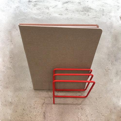 Magazine Rack (Silver/Red/Blue/Navy Blue)