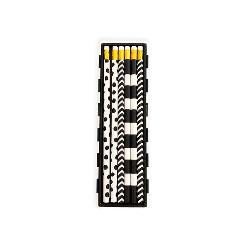 Monochrome Assorted Pencils