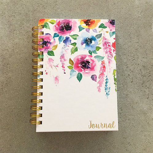 Hanging Flowers Journal