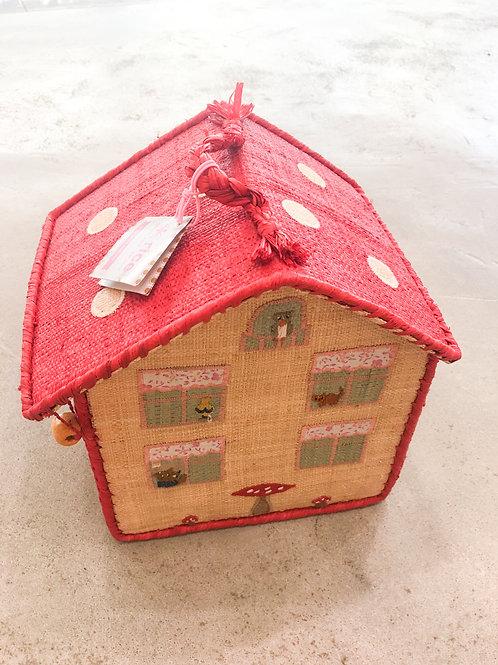 House Raffia Hamper