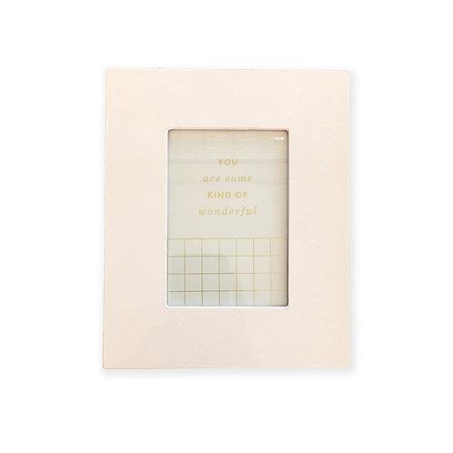 Blush Speckle - Standard Size Photo Frame