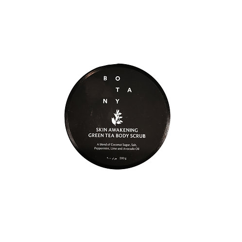Botany Skin-Awakening Green Tea Body-Scrub