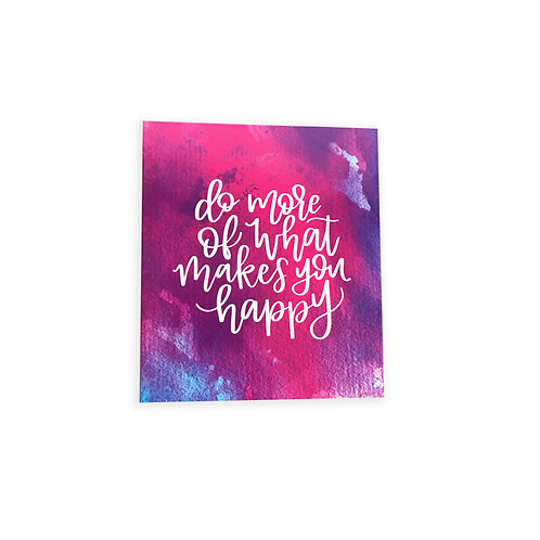 Fashion Geode Ring Binder (do more of what makes you happy)