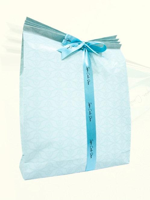 Pleated Bag Wrap