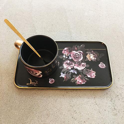 Qatar Coffee Set - Black