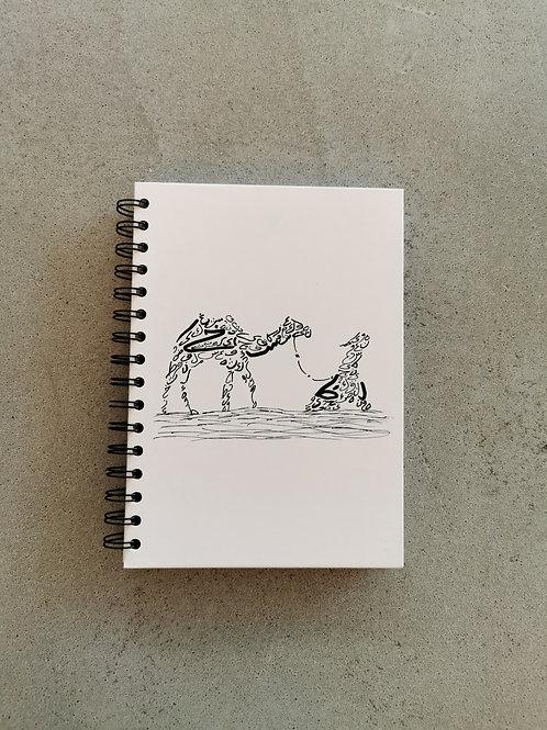 Doodle Camel Notebook