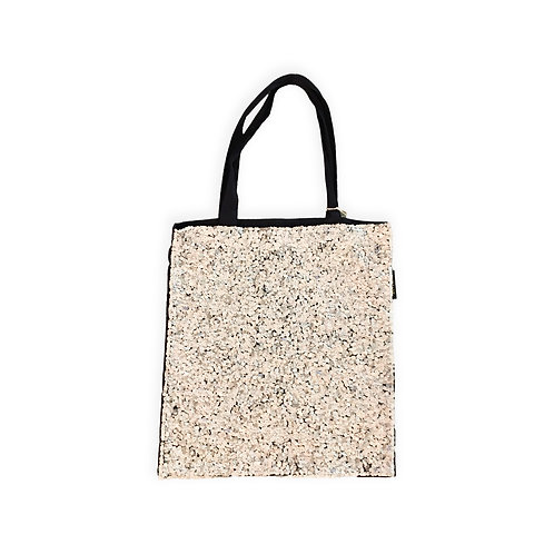 Silver Sequins Tote Bag