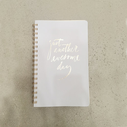 Just another awesome day - Leather Journal
