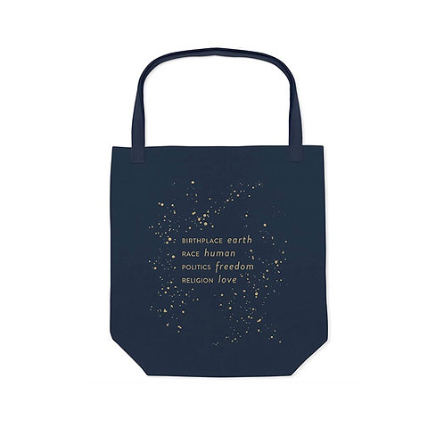 Birthplace Earth Tote Bag